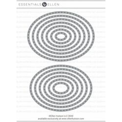Essential Ovals For Stitching, Essentials By Ellen Designer Dies -
