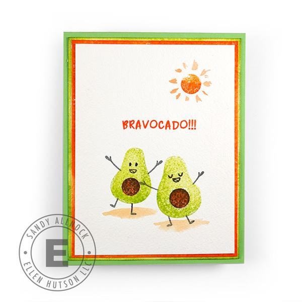 Guac On by Julie Ebersole, Essentials by Ellen Clear Stamps -