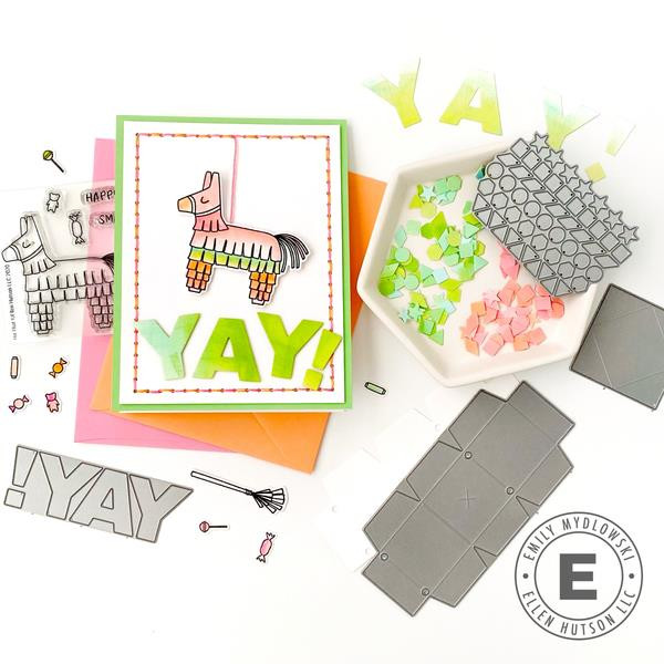Hit That by Julie Ebersole, Essentials by Ellen Clear Stamps -