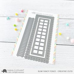 Slim Fancy Fence, Mama Elephant Creative Cuts -