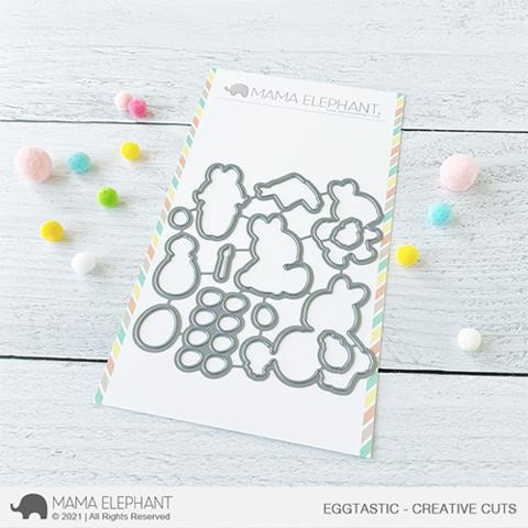 Eggtastic, Mama Elephant Creative Cuts -
