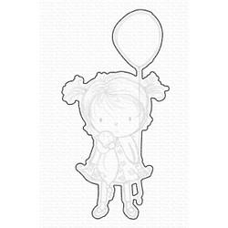 Birthday Cutie by Rachelle Anne Miller, My Favorite Things Die-Namics -