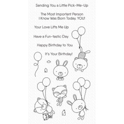 Balloon Besties, My Favorite Things Clear Stamps -