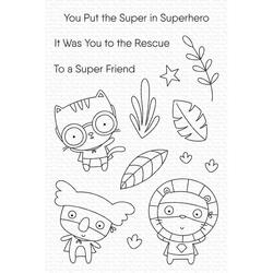 Super Friend, My Favorite Things Clear Stamps -
