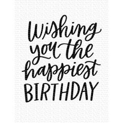 Happiest Birthday, My Favorite Things Clear Stamps -