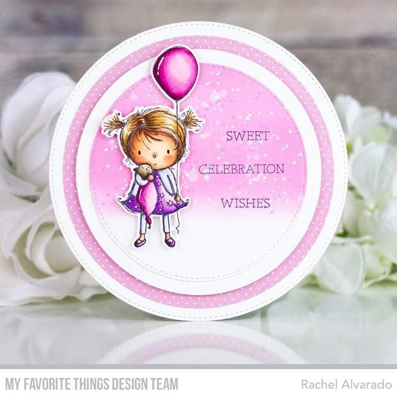 Birthday Cutie by Rachelle Anne Miller, My Favorite Things Clear Stamps -