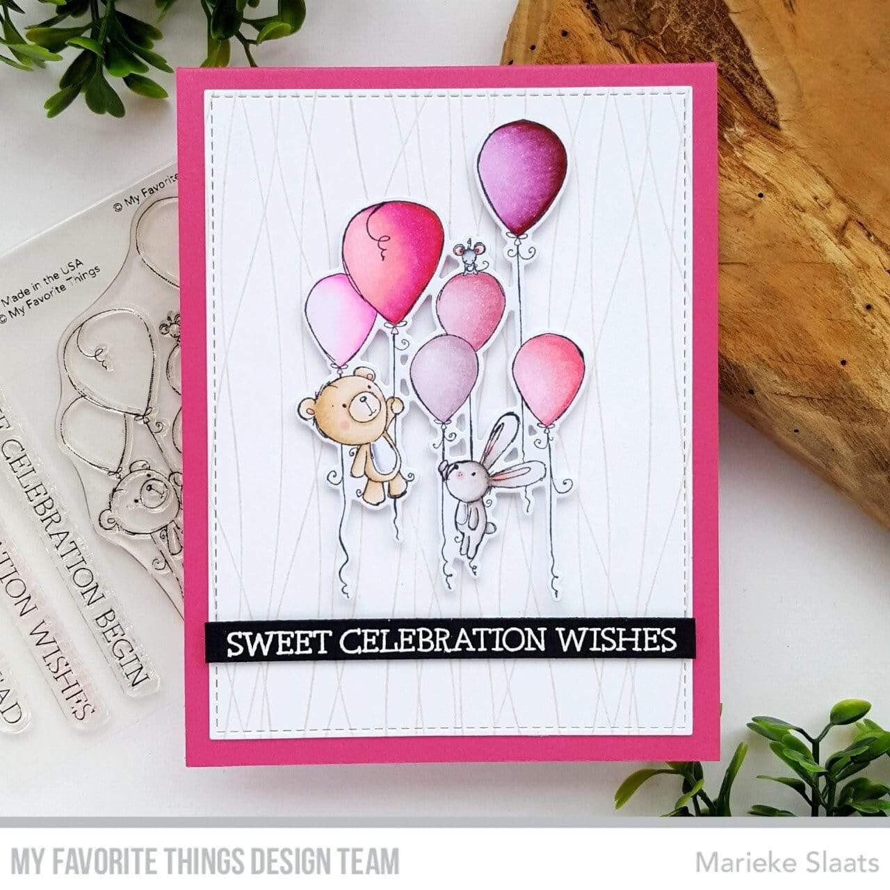 Sweet Celebration by Rachelle Anne Miller, My Favorite Things Clear Stamps -