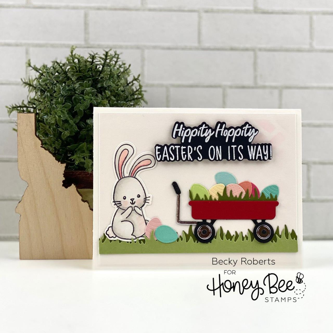 Easter Buddies, Honey Bee Clear Stamps -