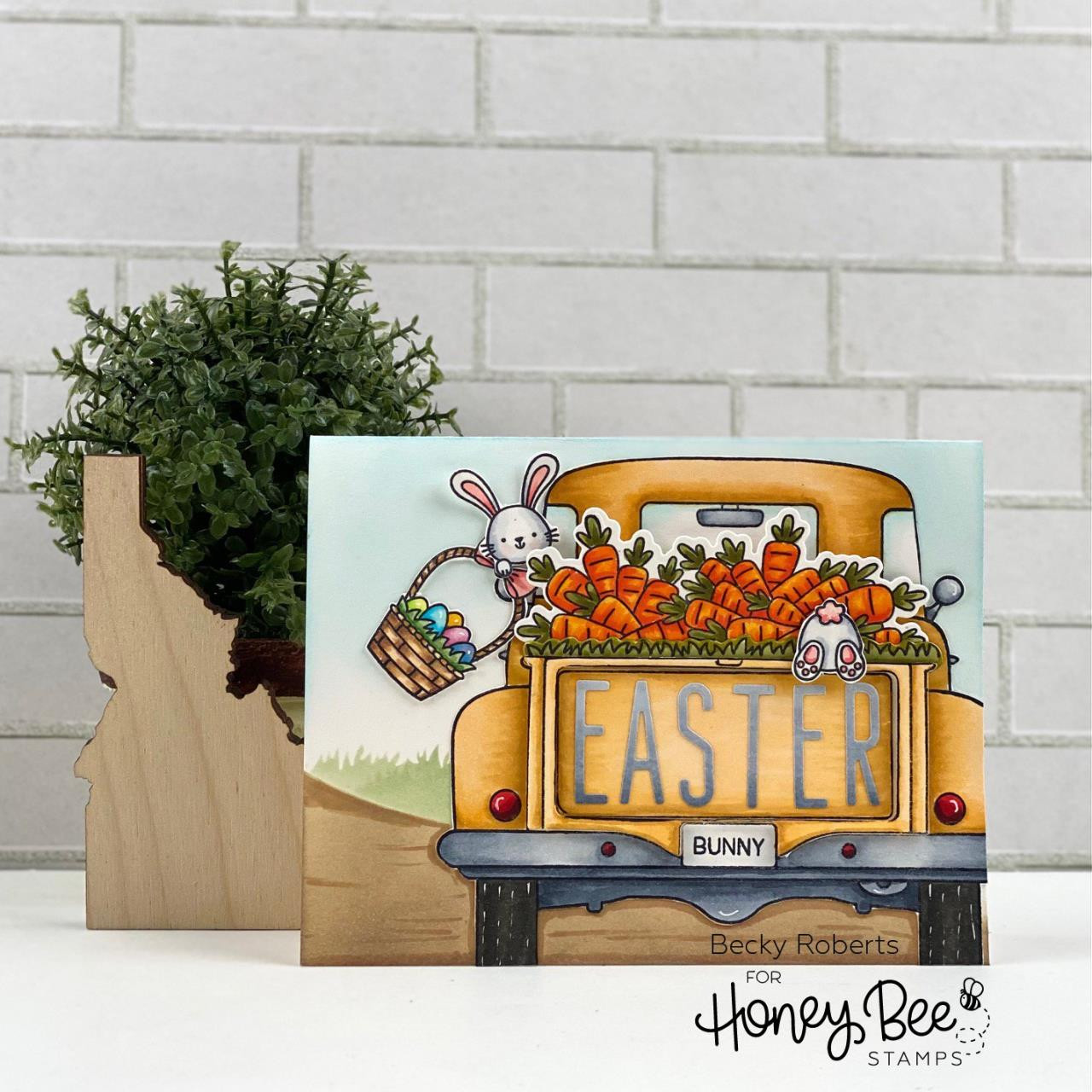 Loads of Spring, Honey Bee Clear Stamps -