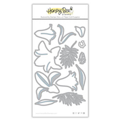 Lovely Layers: Easter Lily, Honey Cuts Dies -