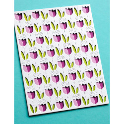Field of Blooms Plate Layer Set , Birch Press Design Dies -