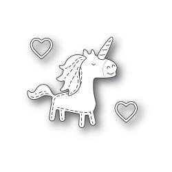 Whittle Unicorn, Poppystamps Dies -