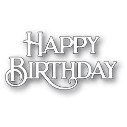 Happy Birthday Poe Script, Poppystamps Dies -