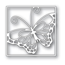 Stained Glass Butterfly, Memory Box Dies -