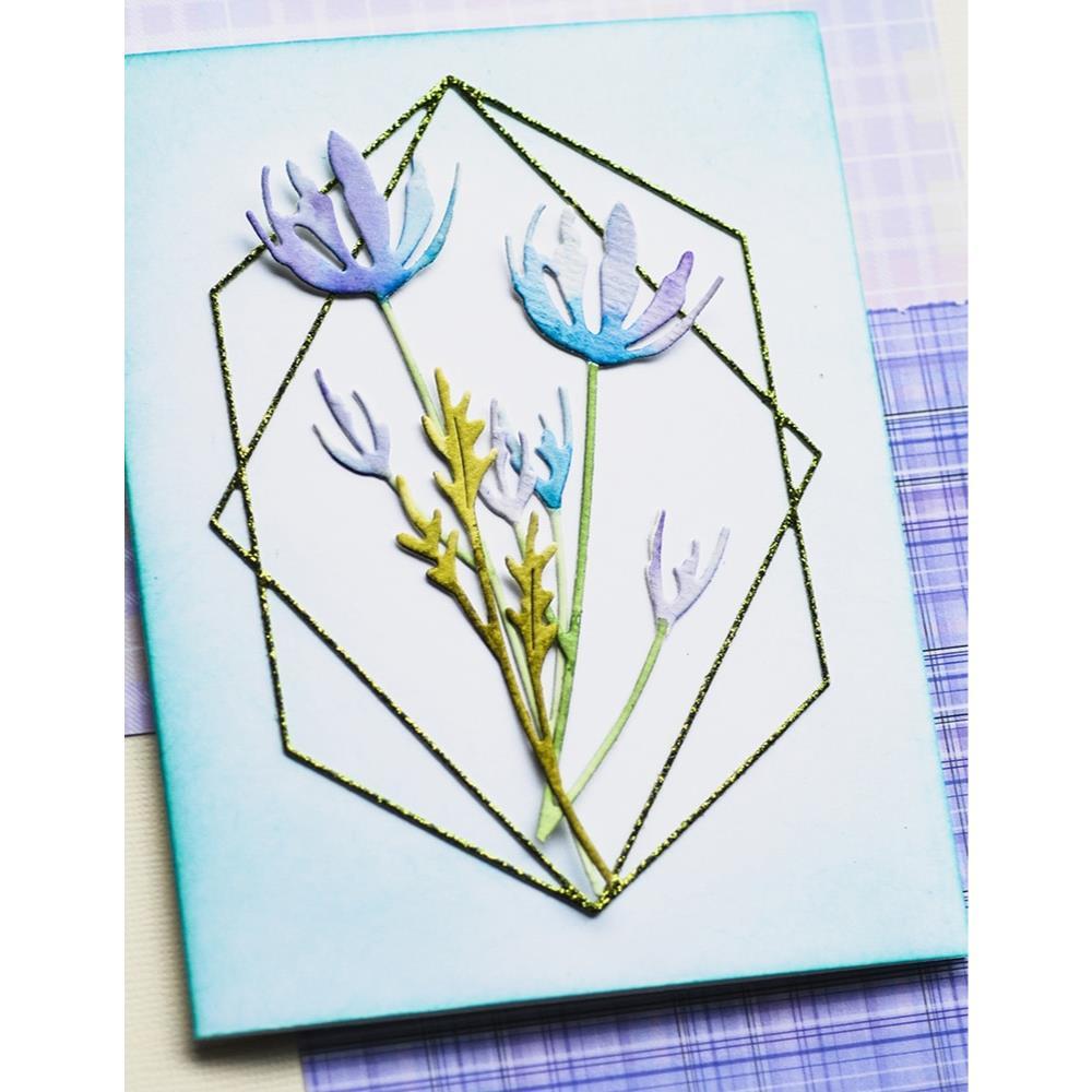 Wildflower Stems, Memory Box Dies -
