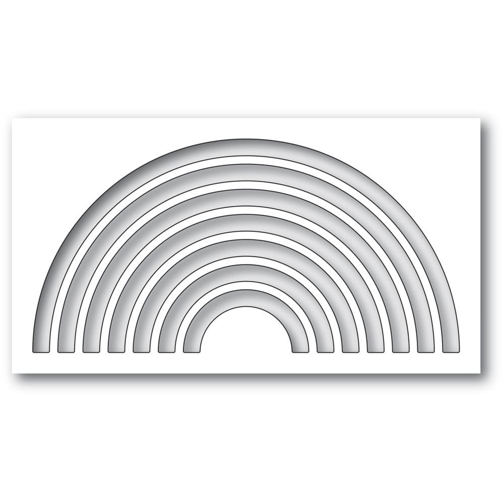 Arched Collage, Memory Box Dies -