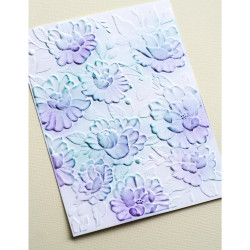 Blooming 3D, Memory Box Embossing Folders -