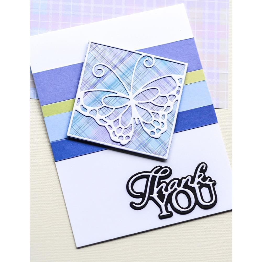 Ocean Blue, Memory Box 6 X 6 Paper Pad -