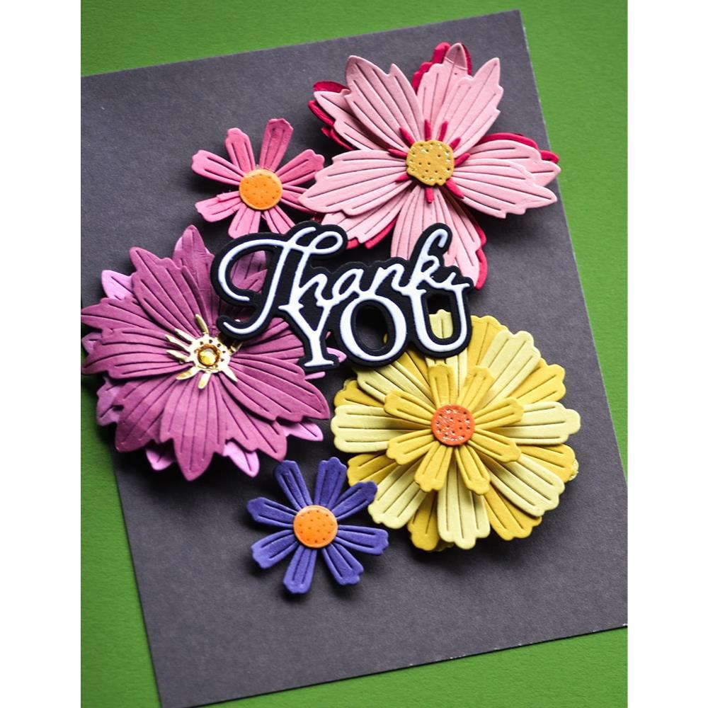Vibrant Violet, Memory Box 6 X 6 Paper Pad -