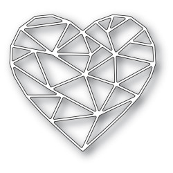 Crystal Heart, Memory Box Dies -