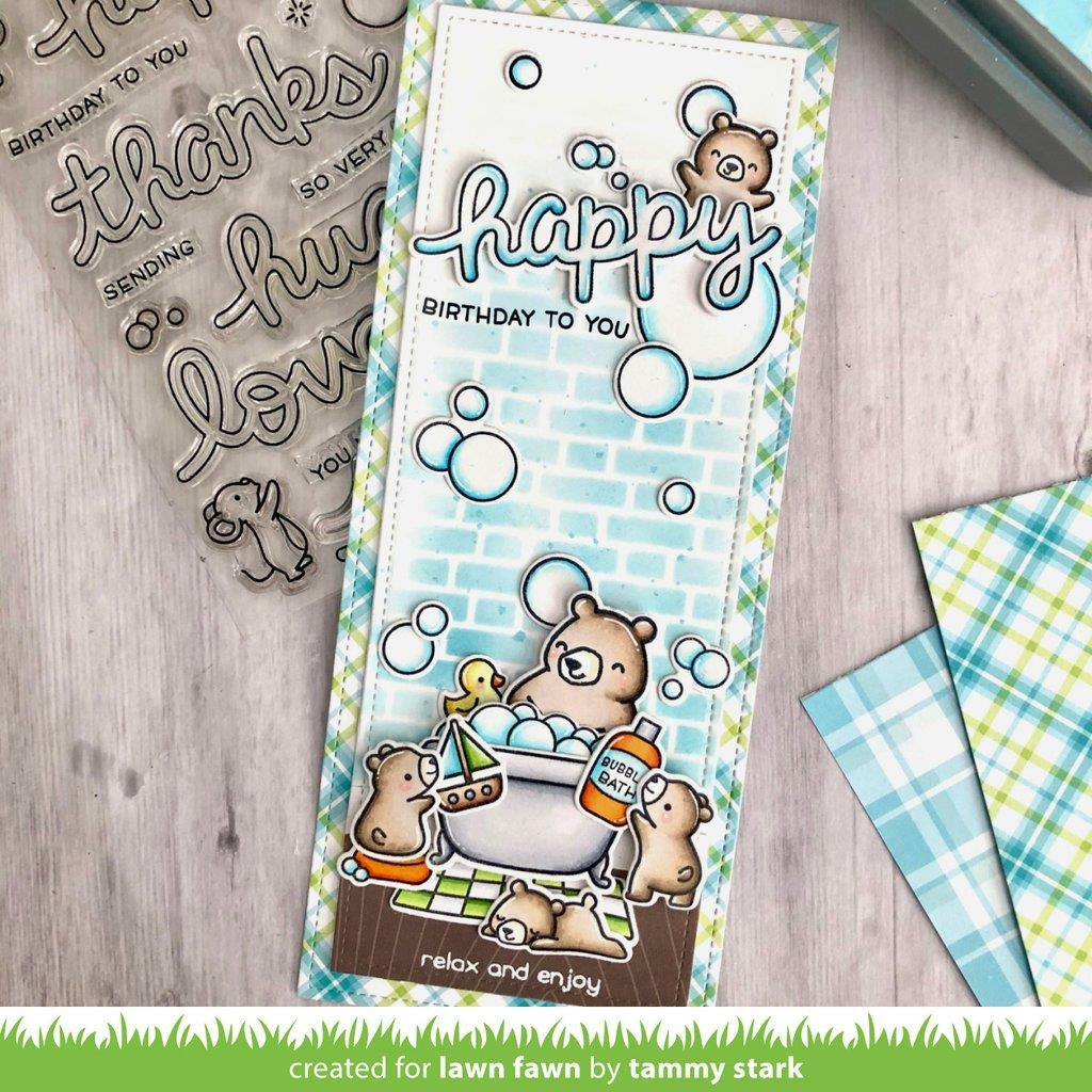 Perfectly Plaid Remix, Lawn Fawn Petite Paper Pack -