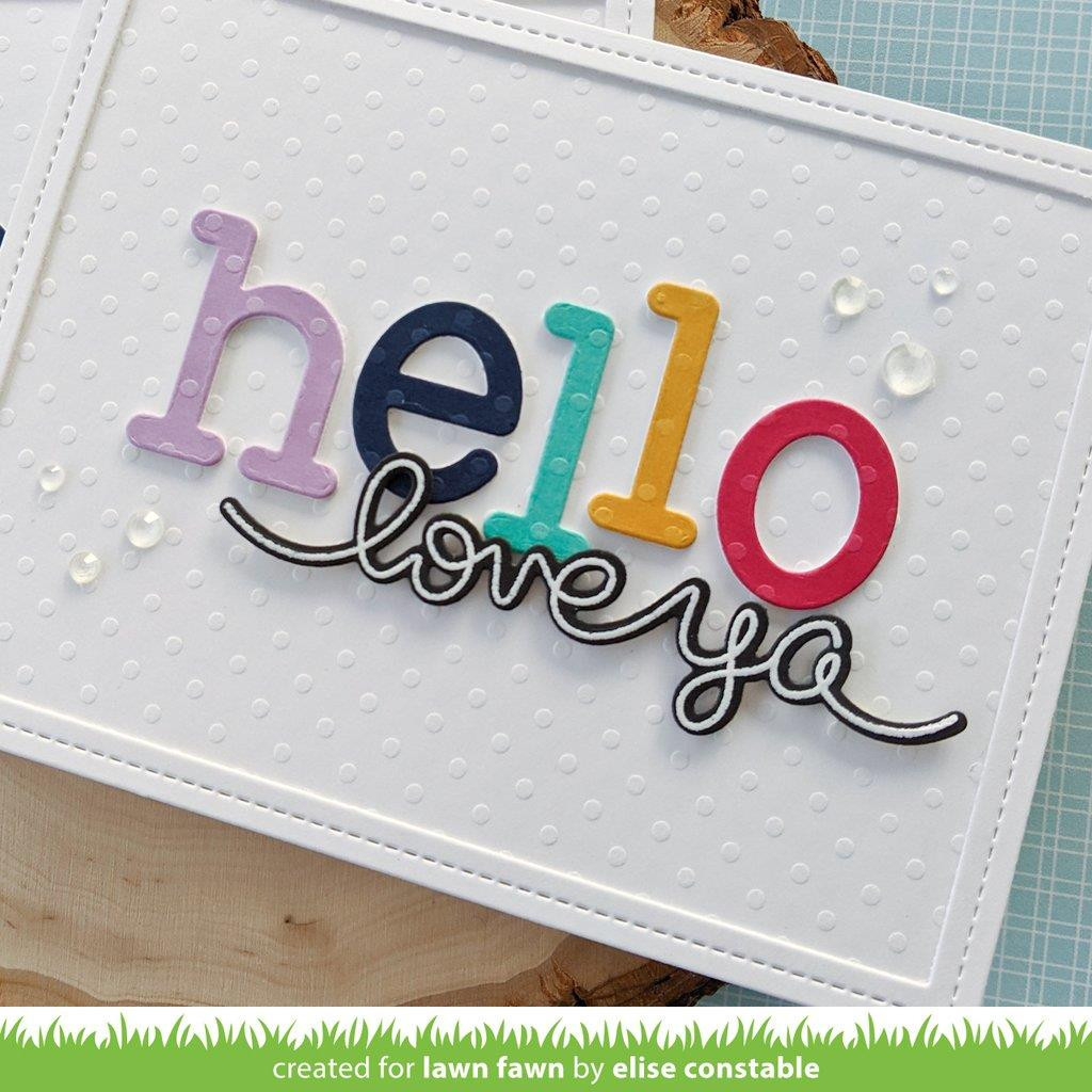 Textured Dot Cardstock - Brights, Lawn Fawn Cardstock -