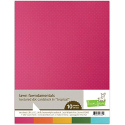 Textured Dot Cardstock - Tropical, Lawn Fawn Cardstock -