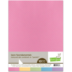 Textured Dot Cardstock - Pastels, Lawn Fawn Cardstock -