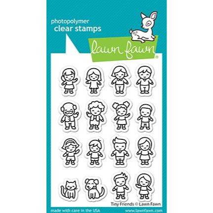 Tiny Friends, Lawn Fawn Clear Stamps -