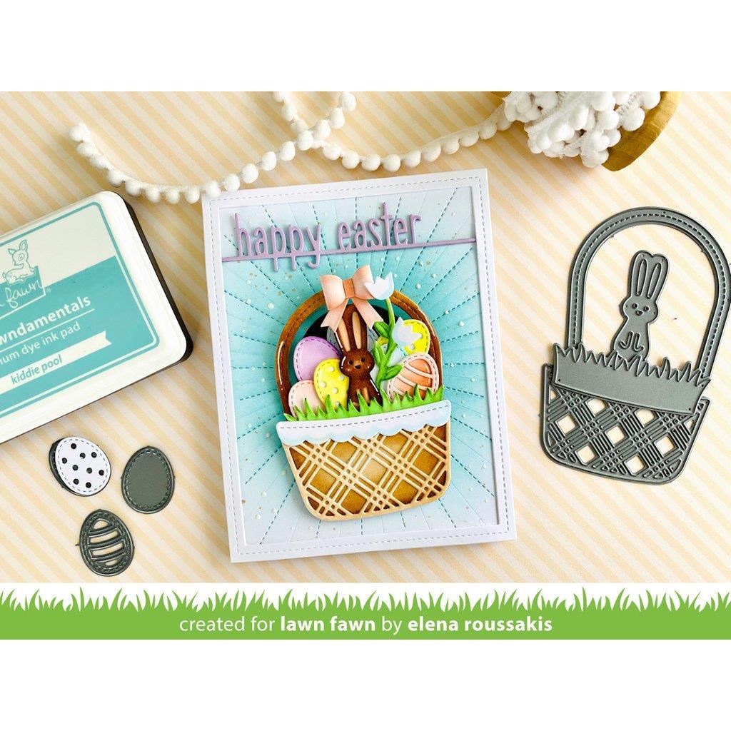 Build-A-Basket: Easter, Lawn Cuts Dies -