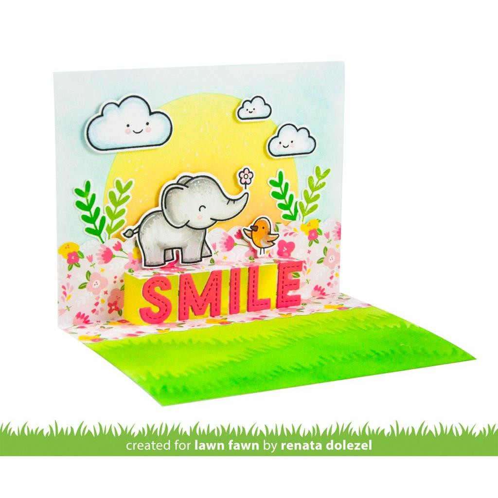 Pop-Up Smile, Lawn Cuts Dies -
