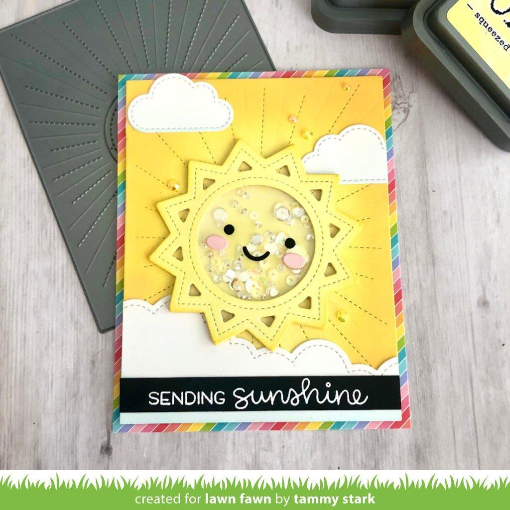 Stitched Sun Frame, Lawn Cuts Dies -