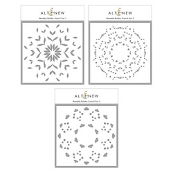 Mandala Builder, Altenew Stencils -