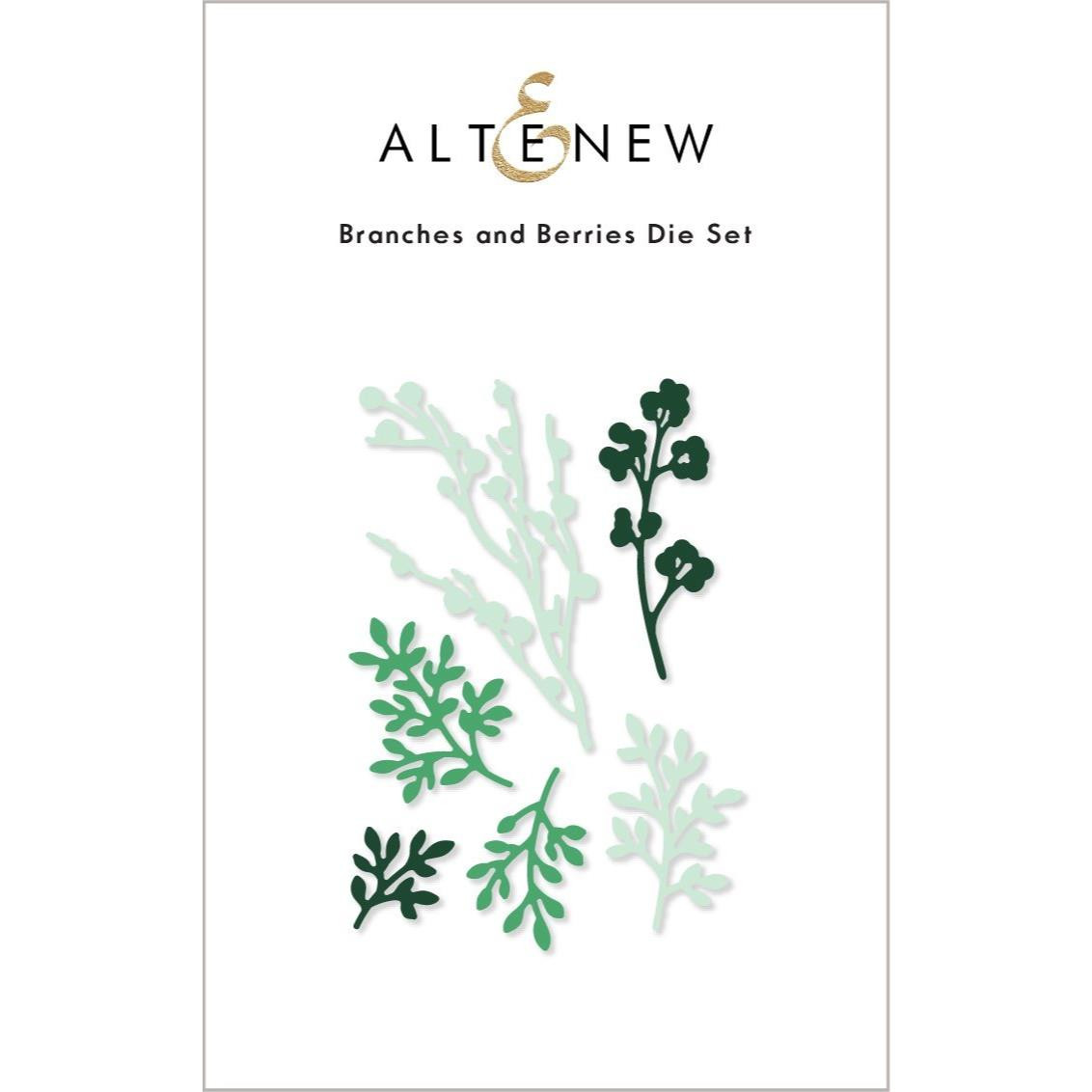 Branches and Berries, Altenew Dies -