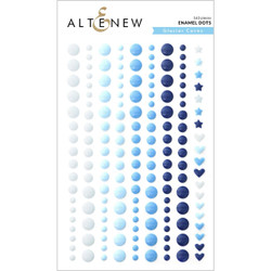 Glacier Caves, Altenew Enamel Dots -