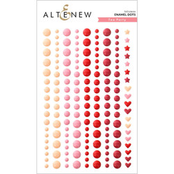 Tea Party, Altenew Enamel Dots -