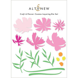 Craft-A-Flower: Cosmos, Altenew Dies -