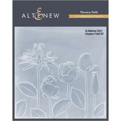 Flowery Field 3D, Altenew Embossing Folder -