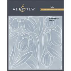 Tulip 3D, Altenew Embossing Folder -