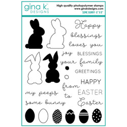 Some Bunny, Gina K Designs Clear Stamps -