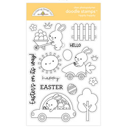 Hippity Hoppity, Doodlebug Clear Stamps -