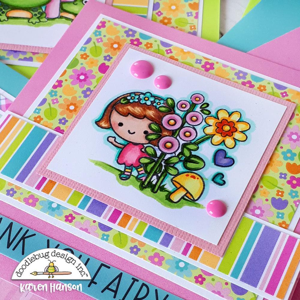Fairy Garden, Doodle Cuts -