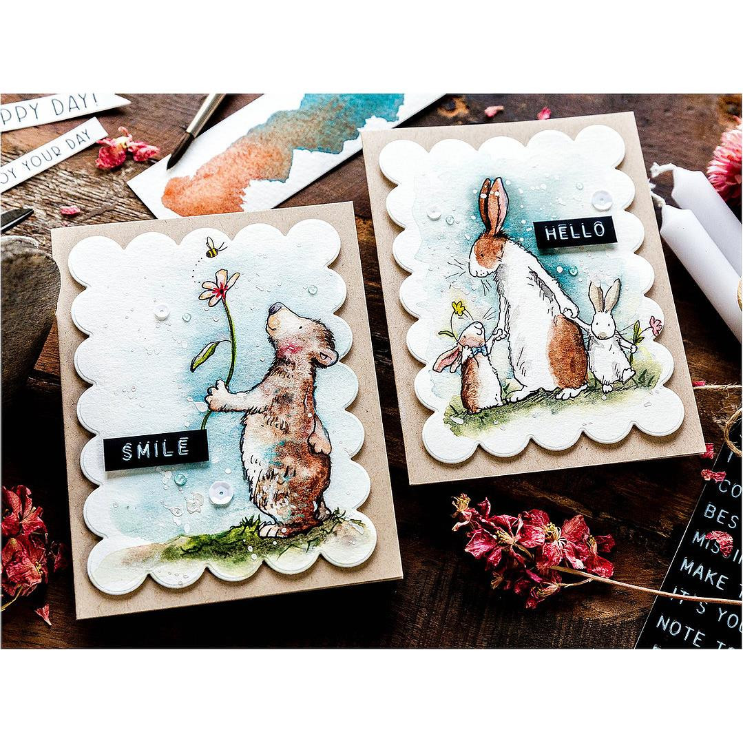 Happy Day! by Anita Jeram, Colorado Craft Company Clear Stamps -