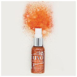 Tender Peach, Tonic Nuvo Sparkle Spray -