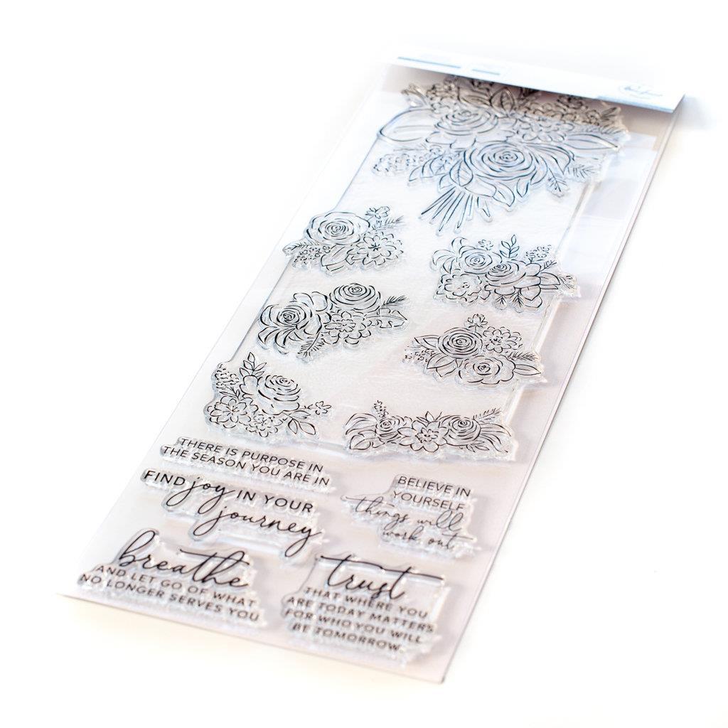 Joyful Bouquet, Pinkfresh Studio Clear Stamps -