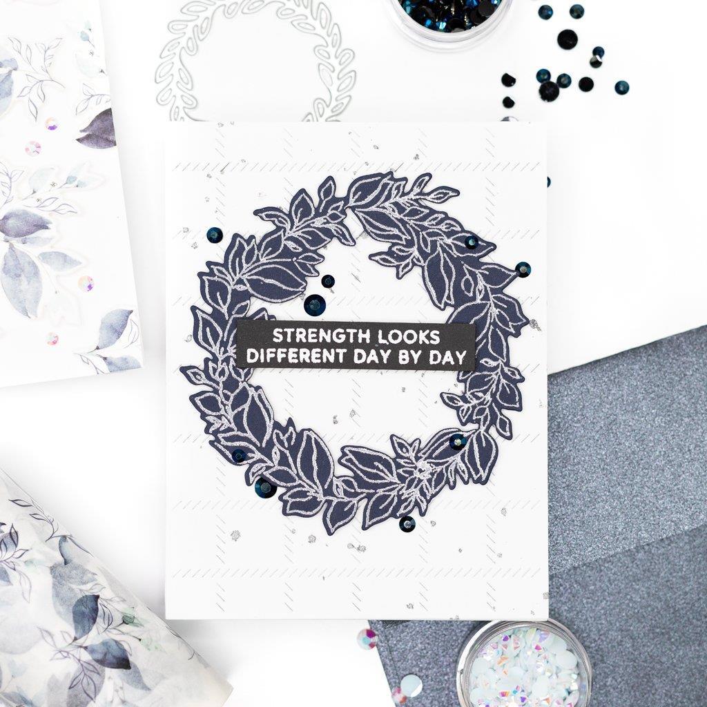 Indigo Vines, Pinkfresh Studio Clear Stamps -