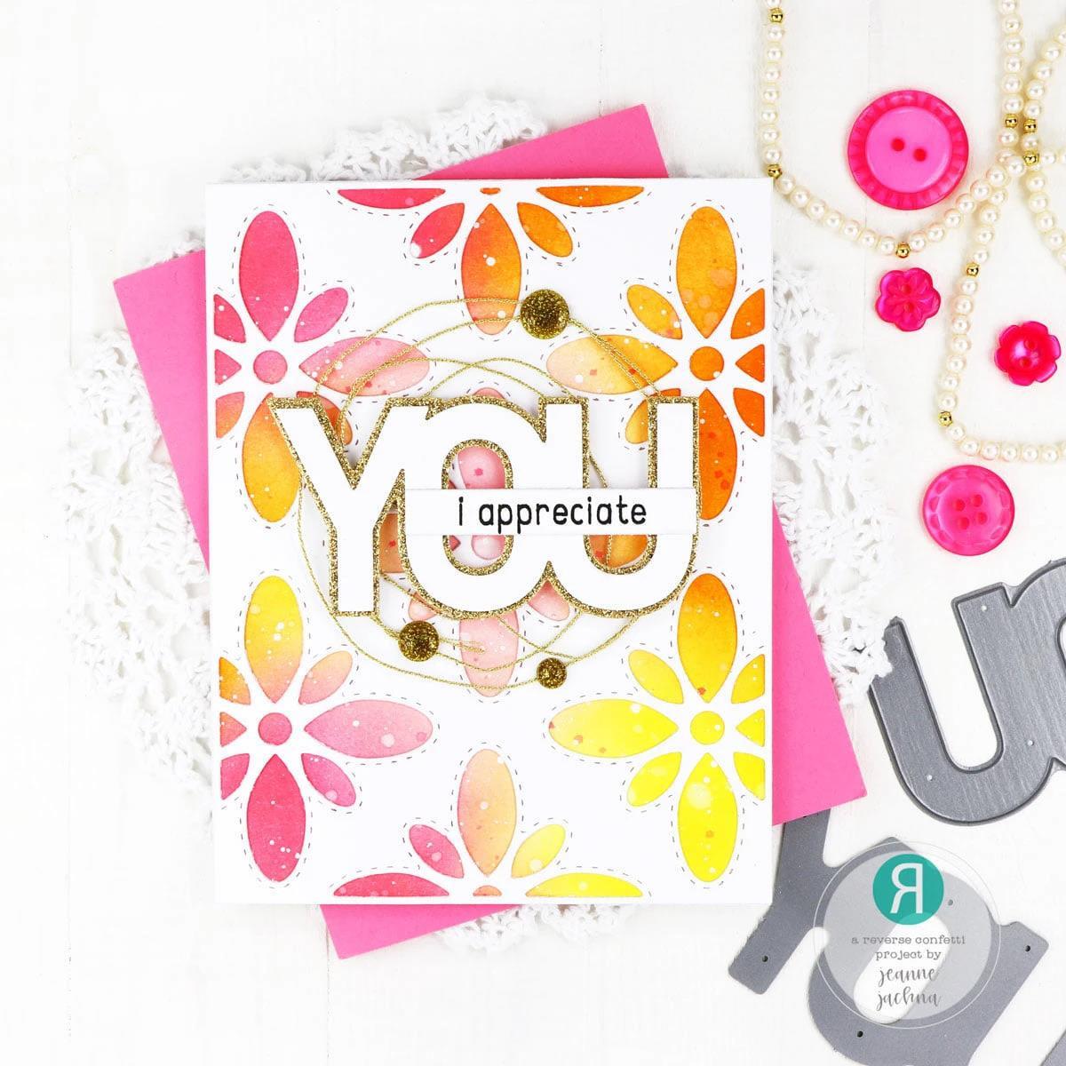 You, Reverse Confetti Cuts -
