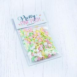 Sherbet, Pretty Pink Posh Clay Sprinkles -