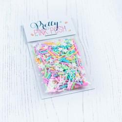 Unicorn Dreams, Pretty Pink Posh Clay Sprinkles -