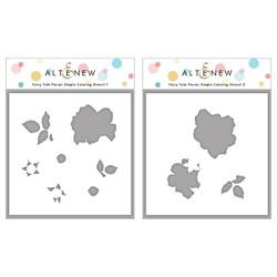 Fairy Tale Florals, Altenew Stencils -